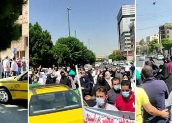 Manifestations audacieuses à Téhéran, Karaj et Kermanchah marquant le 12e jour des protestations en Iran