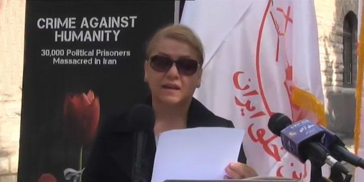 Fatemeh KhazAli demande justice pour le massacre de 1988