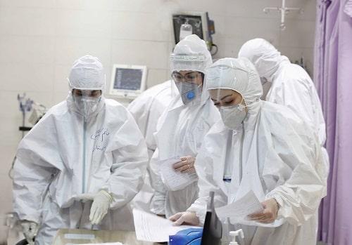 100.000 infirmières contaminées