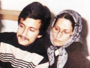 Fatemeh Seighali and her son Ahmad Raouf Basharidoust