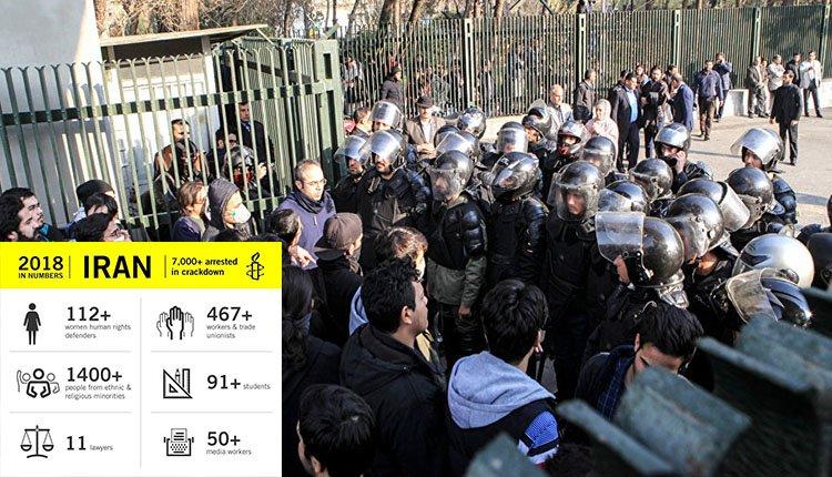Amnesty International Blasts Iran's Mass Arrests In 'Year Of Shame'