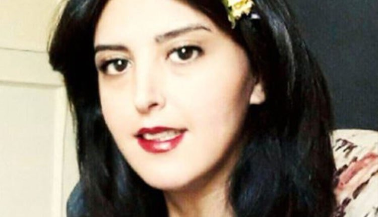 Asal Mohammadi, a civil activist and a student at the Department of Pharmaceutical Sciences at Azad University of Tehran