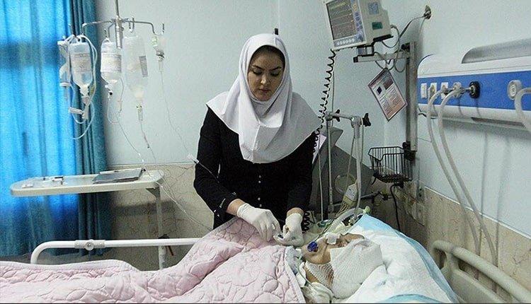nurses in Iran