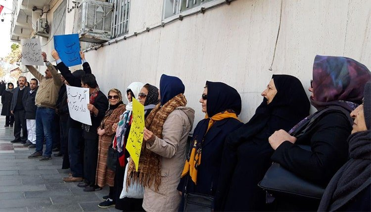Iranian teachers and educators hold their fourth nationwide protests