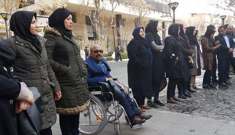 Active role of women in various protests across Iran