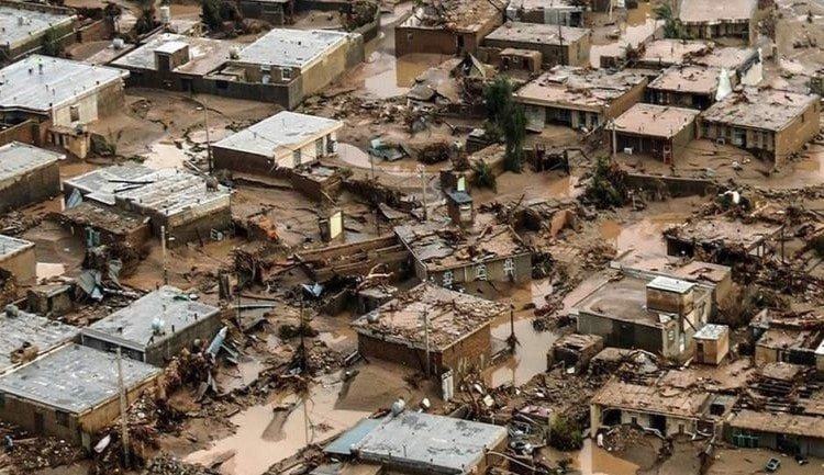 Devastating floods in Iran