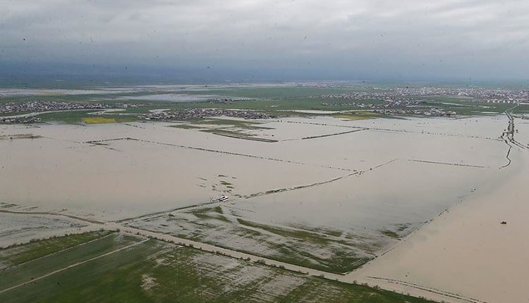 flood disaster wreaks havoc across west and southwest provinces of Iran