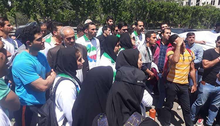 Student protests held in Tehran, Sanandaj and Bushehr
