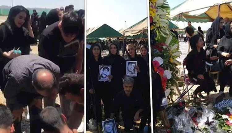 Funeral procession showed Iranian women's resilient spirits