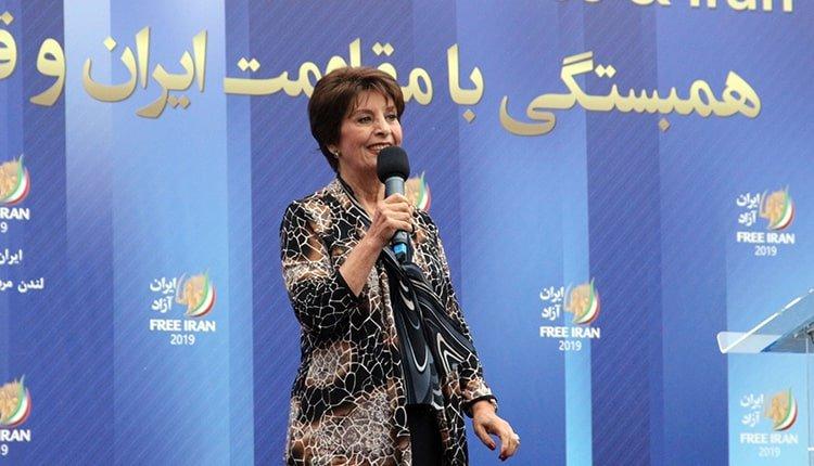 Marjan, renowned Iranian Resistance singer
