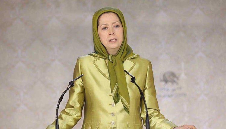 Maryam Rajavi addressing International conference on women's progress in the Iranian Resistance at Ashraf 3