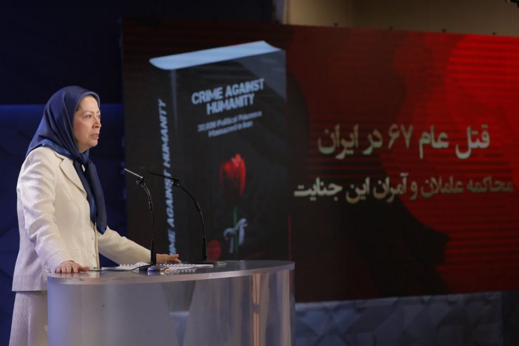 1988 Massacre Maryam-Rajavi-1