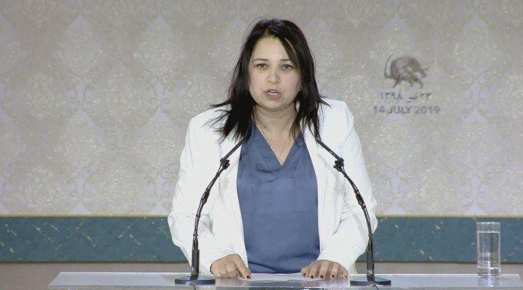 Olfa Jouini Hamza - Women in the Iranian Resistance