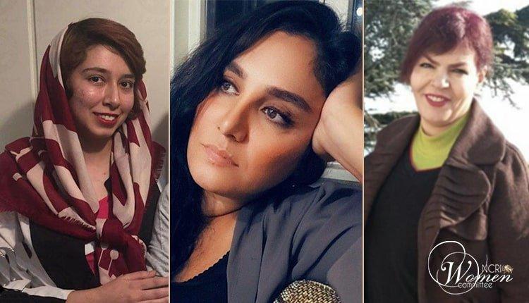 women political prisoners held a sit-in
