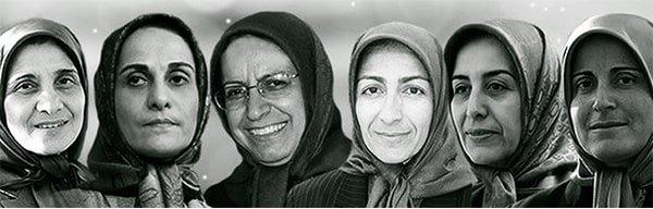 Six women who were massacred in Ashraf by Iran regime's mercenaries