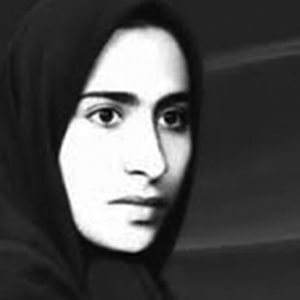 Azam Nasabi, one of the victims of enforced disappearances in Iran