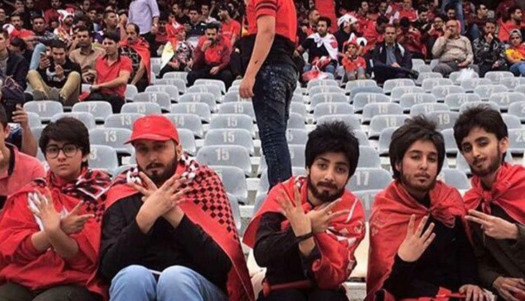 IRGC arrests several young women for entering sports stadium