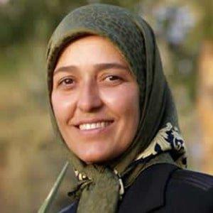 Pouran Najafi was killed in a terrorist missile attack