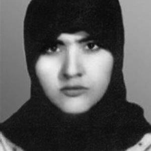 Zahhra Bijanyar, a victim of enforced disappearances in Iran