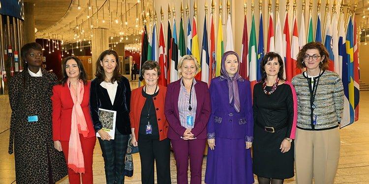 Maryam Rajavi European Parliament