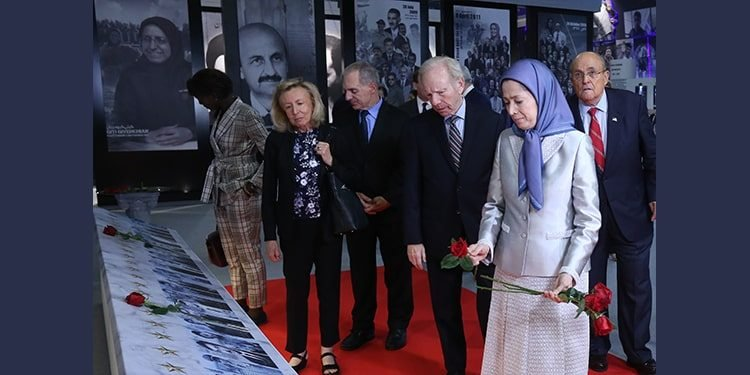 Maryam Rajavi led a major campaign to remove the PMOI/MEK from terrorist lists in Europe