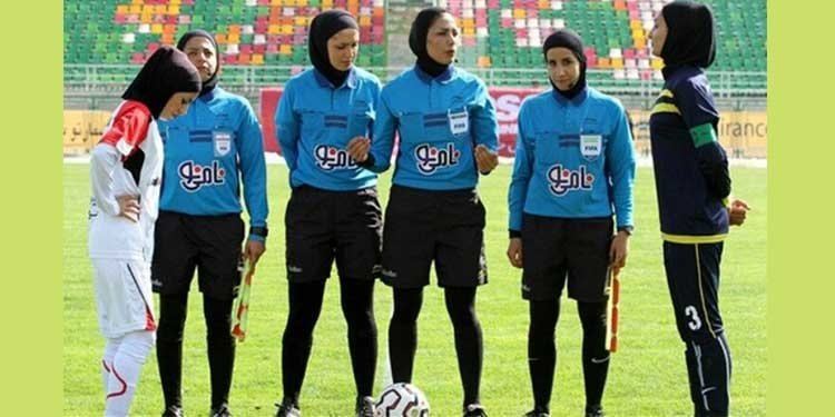 Iran women futsal players - unequal pay, unpaid salaries of female referees