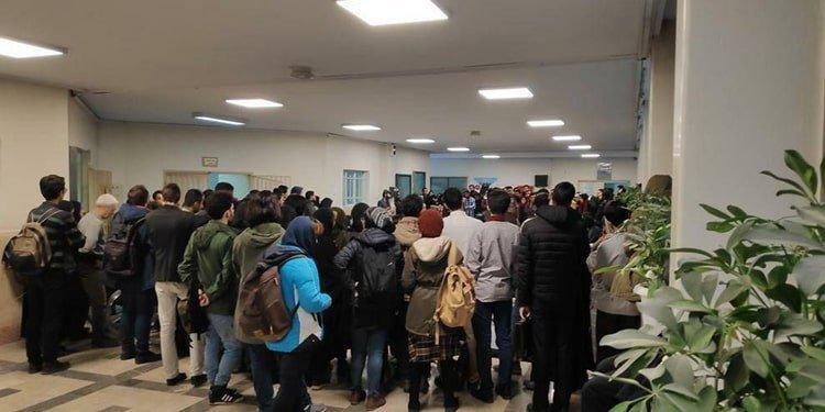 50 Tehran University students arrested after holding protest