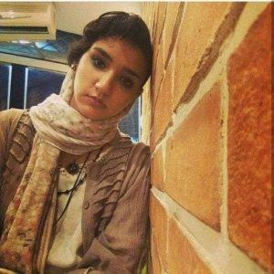 Melika Gharagozlou, a student of journalism at Tehran's Alameh Tabatabaii University