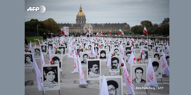 exhibition on 1988 massacre outside French parliament