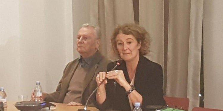 Yves Bonnet Sophie Auconie CPID meeting at FNA 20191029