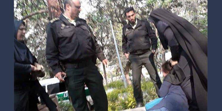 Violence against women in Iran compulsory veil
