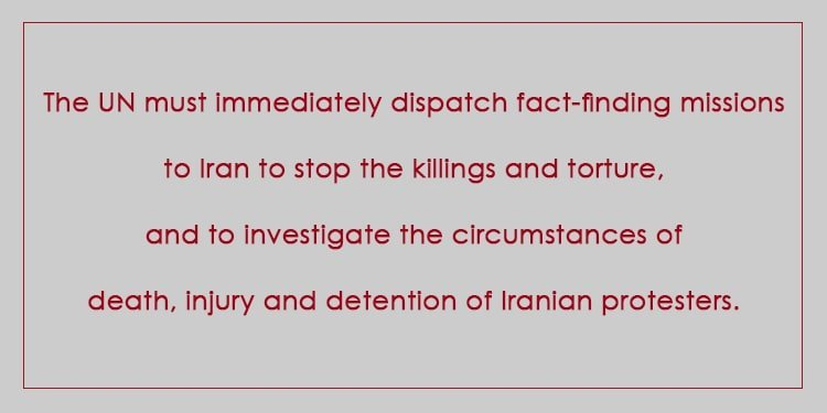 Any silence and inaction on the ongoing carnage in Iran is interpreted by Tehran rulers