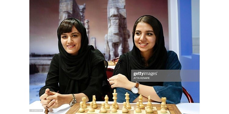 Mitra Hejazipour, a chess grandmaster, is another example