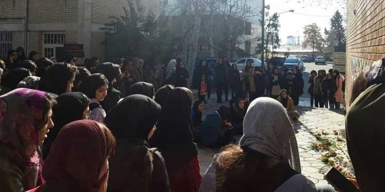 A number of students have been arrested, several women are among those wounded