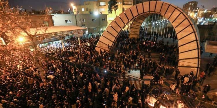Third day of protests by Iranian people and students in 17 provinces