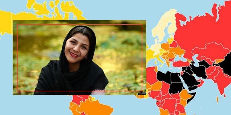 Woman Journalist Fired - Iran Ranks 173 in RSF's Press Freedom Index