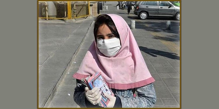 Young female child laborer attacked and burnt by assailants in Isfahan