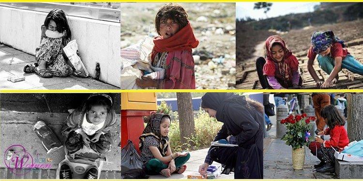 girl child laborers in Iran 2