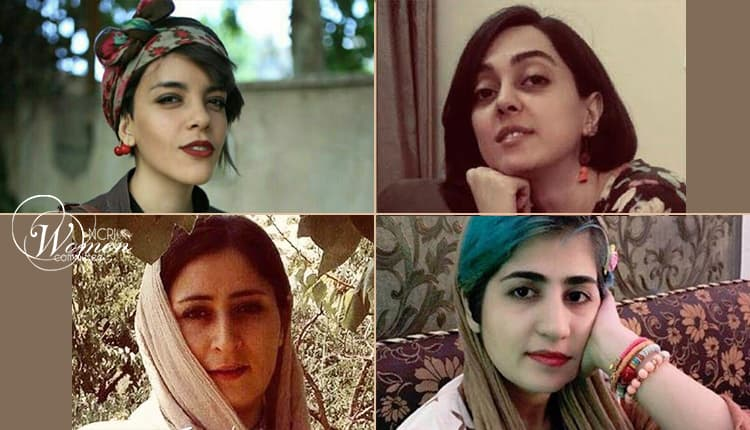 women political inmates in Qarchak Prison