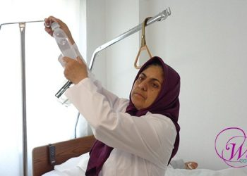 Maryam Nojavan, face of a self-selected woman and a dedicated nurse