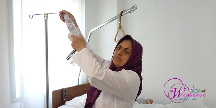 Maryam Nojavan, face of a self-selected woman and a dedicated nurse