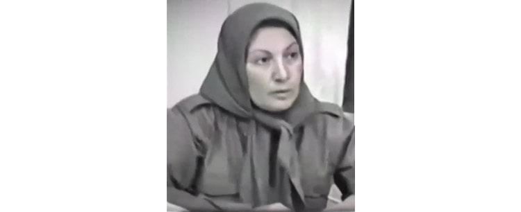 Fereshteh Akhlaghi is a veteran member of the Research Unit on the Martyrs of the Iranian Resistance