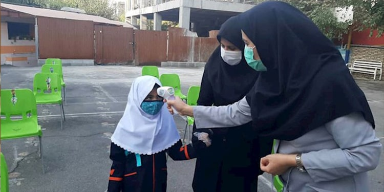 schools in the Third wave of the coronavirus in Iran