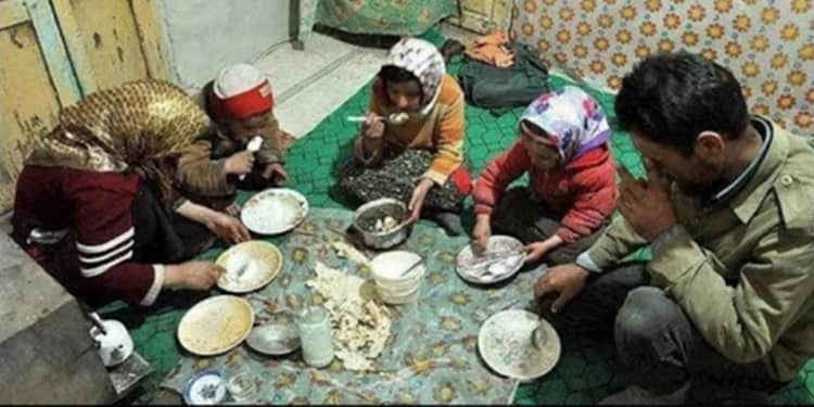 The majority of the Iranian people live below the poverty line