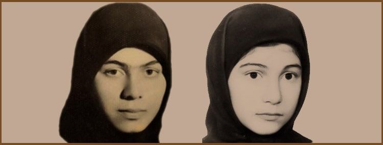 Two sisters executed together in the 1988 massacre