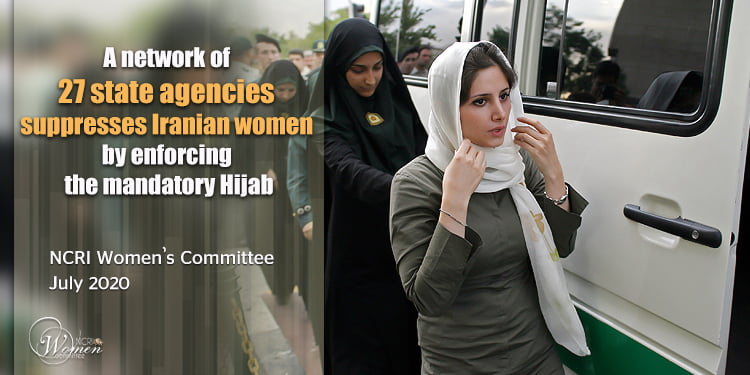 Network of state agencies enforcing the Hijab campaigns