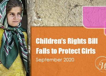 Bill to Protect Children and Adolescents Fails to Protect Girls
