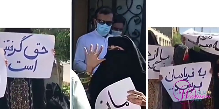 Women of Chabahar protest inhuman demolition of their homes in SE Iran