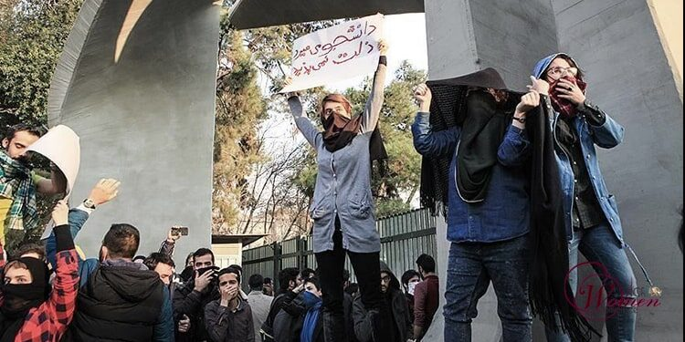 Brave female students, enunciation of a free Iran, and non-discrimination