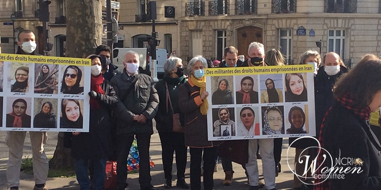 The gathering sought to pay homage to the female political prisoners